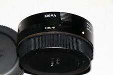 Sigma TC-1401 1.4X Teleconverter for Canon EF. Excellent condition w/nylon pouch