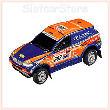 "Carrera GO 61170 BMW X3 CC ""Rally Dakar 2009"" No.302 1:43 Slotcar Auto GO Plus"
