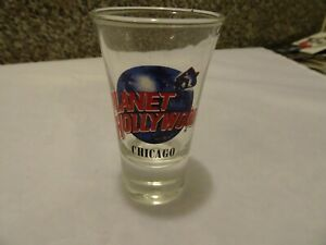 Planet Hollywood Chicago Shot Glass classic logo