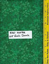 "RDW HUNTER,  108"" EXTRA WIDE QUILT BACKING BTY, 100% COTTON RAZZLE DAZZLE GREEN"