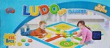 Keraiz Traditional Giant Ludo Dice Game-Family Fun Time Game EVA foam Playmat