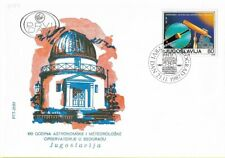 FDC 1987 Yugoslavia Observatory Belgrade Astronomy Commemorative Stamp Science