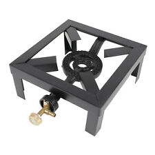 Heavy Duty Single Burner Portable Outdoor Camping Stove Propane Gas Cooker BBQ