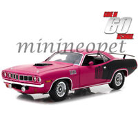 HIGHWAY 61 18010 GONE IN 60 SECONDS SHANNON'S 1971 PLYMOUTH HEMI CUDA 1/18 PINK