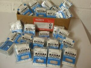 Vintage Milbro / MUSTAD Packaged Hooks to Nylon 1000's off  *** Unique N.O.S.***
