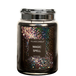 Village Candle Double Wick Large Candle Jar - Magic Spell