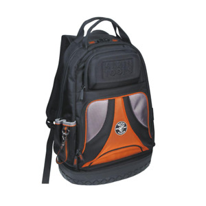 Klein Tools Tool Bag Backpack 2102 cu in. 39-Pockets Padded Handle Polyester