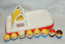Little Tikes Toddle Tots Boat & People/Figures Lot