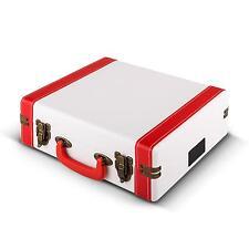 Platine vinyle tourne disque encodage MP3 enceintes stereo valise style retro