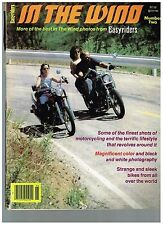 IN THE WIND NUMBER 2 1979 CUSTOM STREET CHOPPERS OUTLAW BIKER LIFESTYLE WOMEN