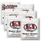 6 Sets! SIT Strings PN1052 Heavy Bottom Power Groove Pure Nickel .010-.052 for sale