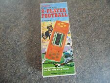 2-PLAYER FOOTBALL TANDY HANDHELD GAME BOXED COMPLETE 1981 SPARES REPAIRS