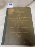 il progresso terapeutico annuario pratico scientifico anno 1899