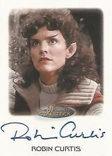 """Women of Star Trek - Robin Curtis """"Saavik"""" Autograph Card"""