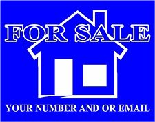 For Sale / To Let sign boards,made to your requirements
