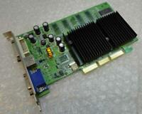 128MB NVIDIA GP4000T-8X/128M MX400 DVI VGA AGP Video Graphics Card