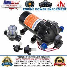 Dc 12v 60 Psi 50 Gpm Electric Diaphragm Water Pump Self Priming High Pressure