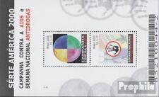 Brasilien Block113 (kompl.Ausg.) postfrisch 2000 Kampf gegen Aids