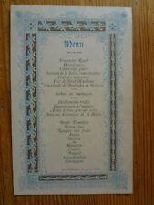 Ancien Menu 1895 - Lons le Saunier - Etat neuf