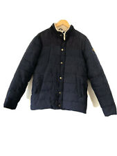 Soulcal & Co California Padded Coat Jacket Fur Collar Mens Blue Medium