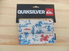 Quiksilver Balboa Blue Tri-Fold wallet brand new with tags