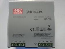 MEANWELL DRT-240-24 alimentation 240W 3PH 400VAC/ 24V 10A rail DIN - neuve
