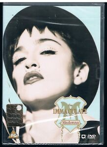 MADONNA  THE IMMACULATE COLLECTION  DVD F.C.  SIGILLATO!!!