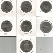 PORTOGALLO - 6 x 2,5 Euro + 1 x 5 Euro 2013