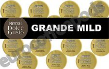 Dolce Gusto Grande Mild Coffee Pods 100 Capsules 100 Drinks Sold Loose