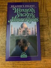 Wonders Sacred And Mysterious VHS