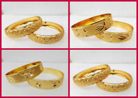Bollywood Gold Plated Bangles Ethnic South Indian Jewelry Fashion Bracelet Set