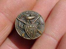 Original Antique Us Nra Marksman Pin / Badge