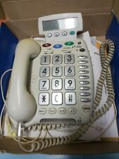 ClearSounds Amplified Speaker Phone Corded LCD Screen CS40XLC Tested Org Box