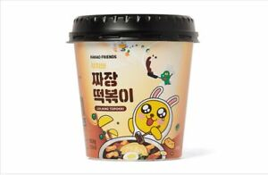 Kakao Friends Jajang Tteokbokki Muji 4ea Set + Including Character Flakes