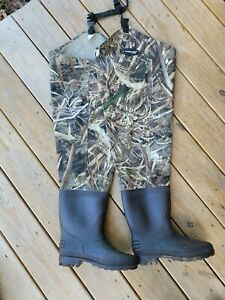 Men's Frogg Toggs Hip Waders Camo  Size 12