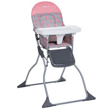 Cosco Simple Fold Full Size High Chair with Adjustable Tray, Stencil