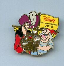 Disney Peter Pan Villain Captain Hook & Mr. Smee Jeweled Treasure Chest Pin