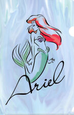 Disney Princess Clear File Folder Japan Post LE Type D Ariel The Little Mermaid