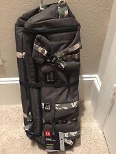 1e4378cb618 Under Armour Project Rock USDNA Range Duffle Bag Backpack Black Gray Camo  NEW