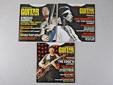 Guitar World Magazine CD-Rom Lot 3 Vtg 2005 Sept Oct Dec Lesson Hendrix Dimebag