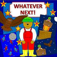 WHATEVER NEXT story teaching resource on CD- Space, EYFS, KS1, for Story Sack