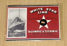 2012 Cult-Stuff RMS TITANIC 100Year Commemorative ARTIFACT artifacts WOOD card