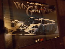 SALEEN S7 WINNER AT WATKINS GLEN 6 HOURS RACE DEALERSHIP FRAMED POSTER ORIGINAL