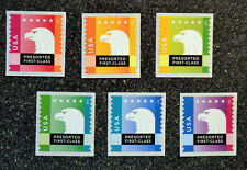 2015USA #5013-5018 25c Spectrum Eagle Presorted - Set of 6 Singles  presort