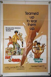Hot Potato / Enter Die Dragon Ff Orig 1SH Film Poster Bruce Lee Jim KELLY 1976