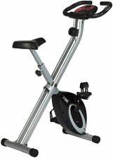 Ultrasport F-Bike Vélo d'Appartement Pliable - Argent/Noir