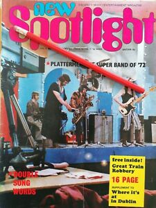 Rare Irish Music Magazine New Spotlight Big Tom Plattermen Linda Martin America