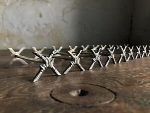 Set of 10 Antique French Silver Plated Knife Rests. Early 20thC