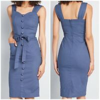 ModCloth Collectif Vintage Breezy Beauty Sheath NWT Marlene Pencil Dress Size 2