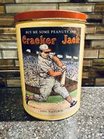 Vintage 1991 Limited Edition Cracker Jack Collectors Tin Container~2nd In Series